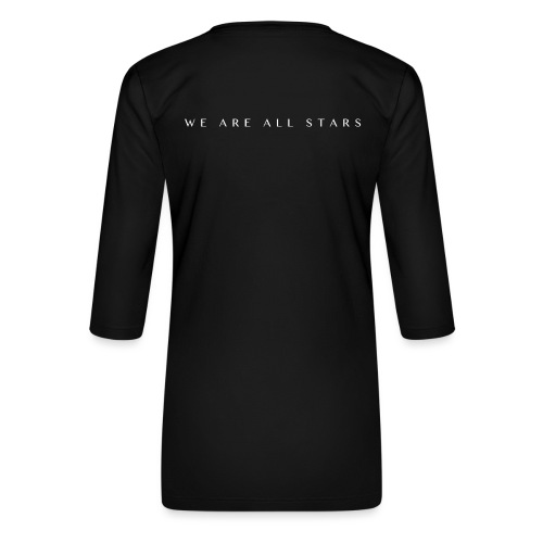 Galaxy Music Lab - We are all stars - Dame Premium shirt med 3/4-ærmer