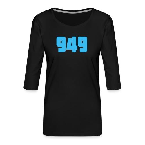 949blue - Frauen Premium 3/4-Arm Shirt