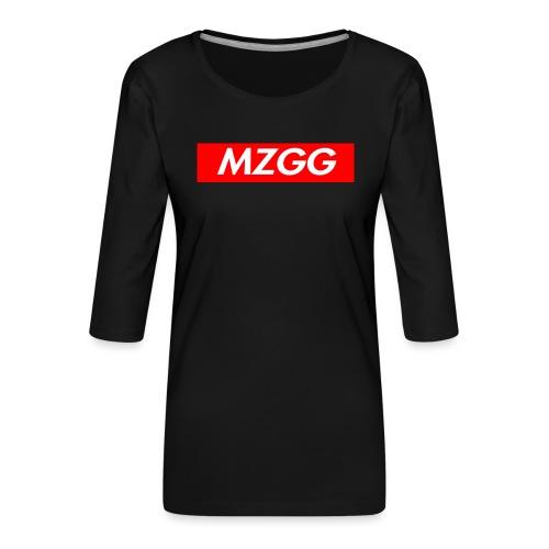 MZGG FIRST - Premium-T-shirt med 3/4-ärm dam