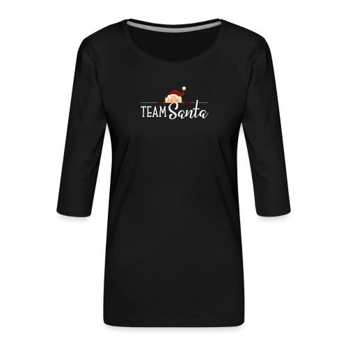 Team Santa Outfit für Familien Weihnachtsoutfit - Frauen Premium 3/4-Arm Shirt