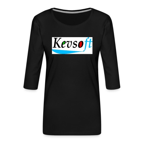 Kevsoft - Women's Premium 3/4-Sleeve T-Shirt