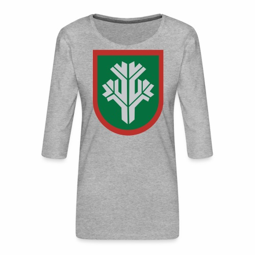 sissi - Naisten premium 3/4-hihainen paita