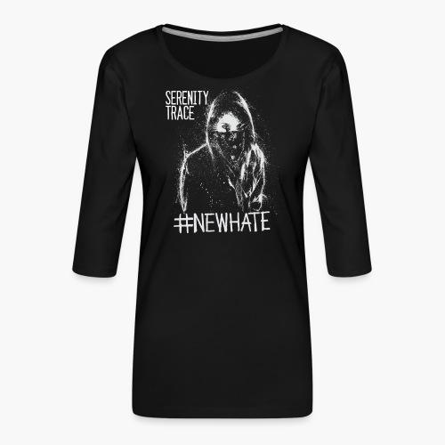 #NewHate Female - Premium T-skjorte med 3/4 erme for kvinner