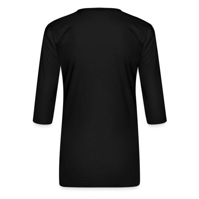 Vorschau: cat pink paint - Frauen Premium 3/4-Arm Shirt