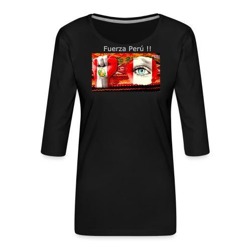 Telar Fuerza Peru I - Women's Premium 3/4-Sleeve T-Shirt