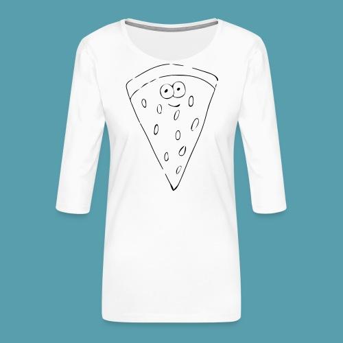 vesimelooni - Naisten premium 3/4-hihainen paita