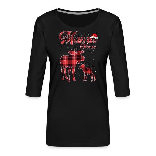 Mama Moose - Women's Premium 3/4-Sleeve T-Shirt