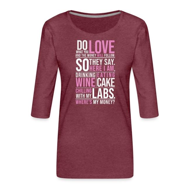 Wine, Cake, Labs