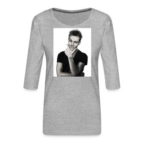 No Regerts - Women's Premium 3/4-Sleeve T-Shirt