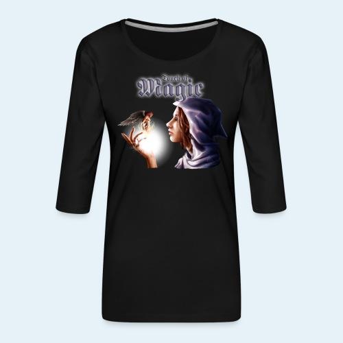 Touch of Magic - Camiseta premium de manga 3/4 para mujer
