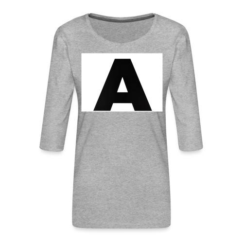 A-685FC343 4709 4F14 B1B0 D5C988344C3B - Dame Premium shirt med 3/4-ærmer