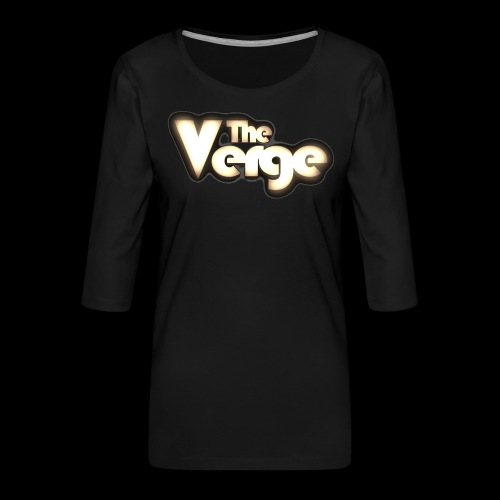 TV logo 005 - T-shirt Premium manches 3/4 Femme