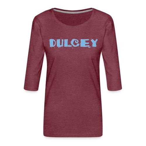 dulcey logo - Frauen Premium 3/4-Arm Shirt