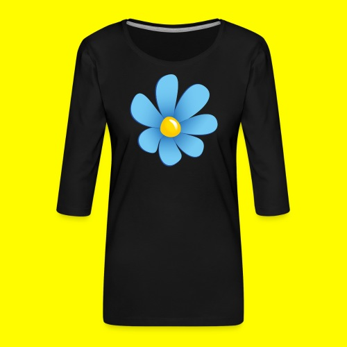 Sverigedemokraterna - Premium-T-shirt med 3/4-ärm dam