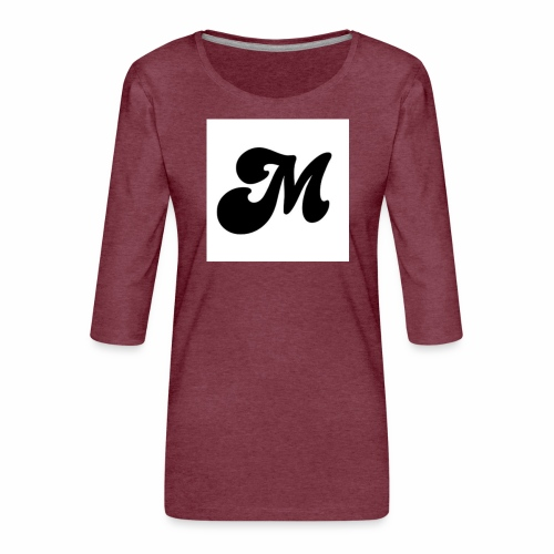 M - Women's Premium 3/4-Sleeve T-Shirt