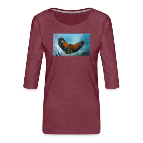 123supersurge - Women's Premium 3/4-Sleeve T-Shirt