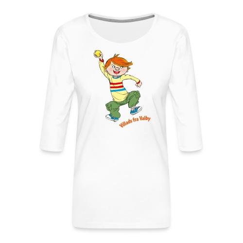 Villads fra Valby - Dame Premium shirt med 3/4-ærmer