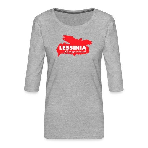 LESSINIA LEGEND - Maglietta da donna premium con manica a 3/4