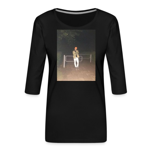 Jay Dane - Dame Premium shirt med 3/4-ærmer