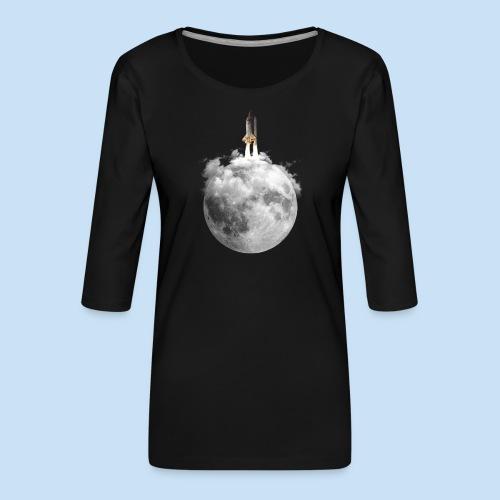 Mondrakete - Frauen Premium 3/4-Arm Shirt
