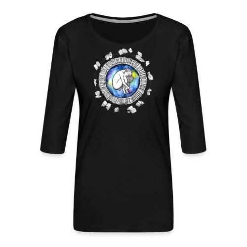 Sophia - Frauen Premium 3/4-Arm Shirt
