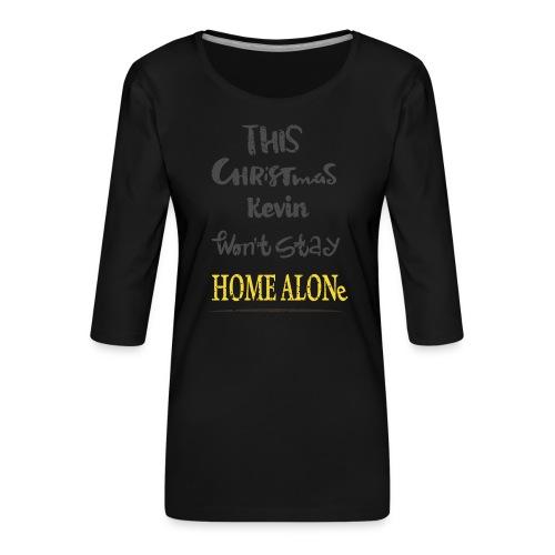 Kevin McCallister Home Alone - Koszulka damska Premium z rękawem 3/4