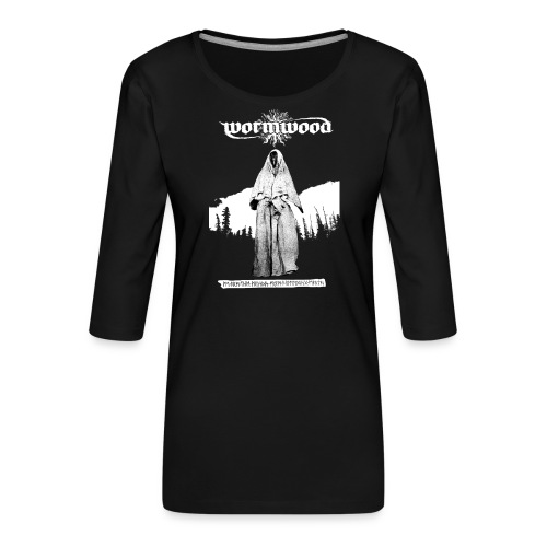 Women's Witch Print - Women's Premium 3/4-Sleeve T-Shirt