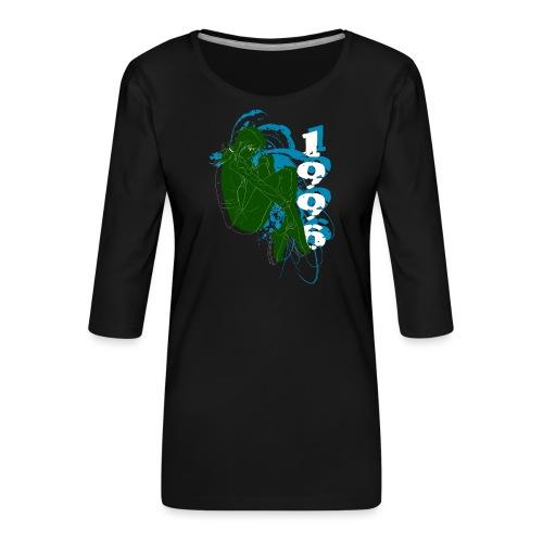 armygirl3 - T-shirt Premium manches 3/4 Femme
