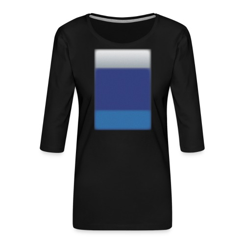 Background @BGgraphic - Dame Premium shirt med 3/4-ærmer