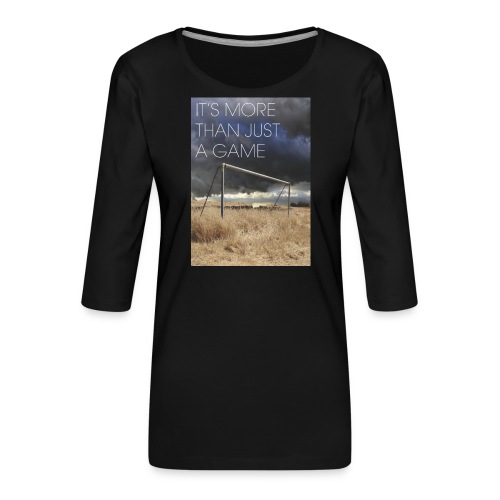 more - Women's Premium 3/4-Sleeve T-Shirt