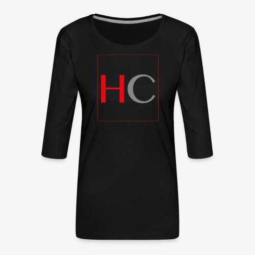 hc png - T-shirt Premium manches 3/4 Femme