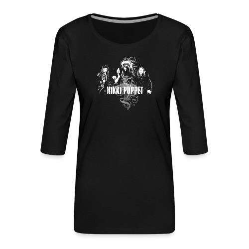Motiv Band NP w - Frauen Premium 3/4-Arm Shirt