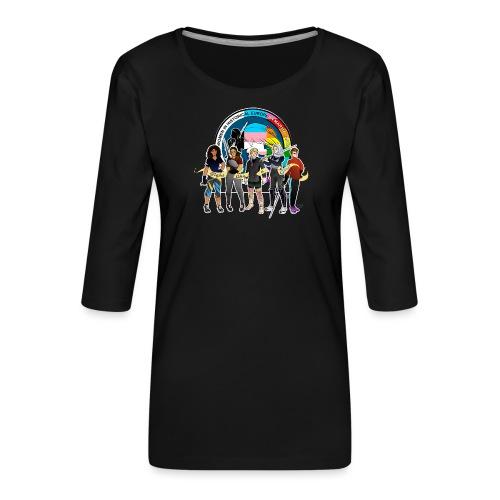 HEMAWomen2 - Women's Premium 3/4-Sleeve T-Shirt