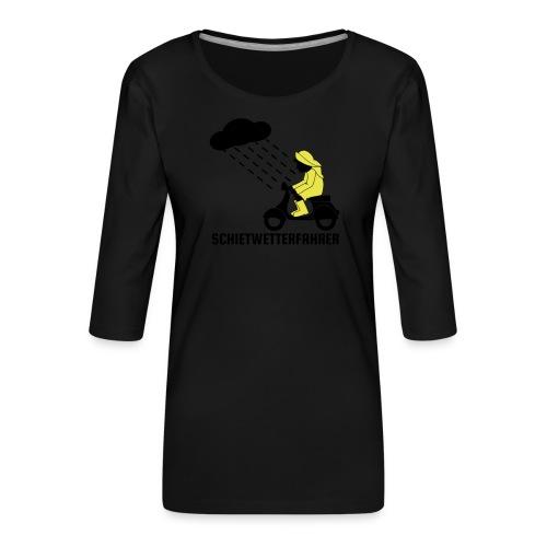 Schietwetterfahrer - Frauen Premium 3/4-Arm Shirt