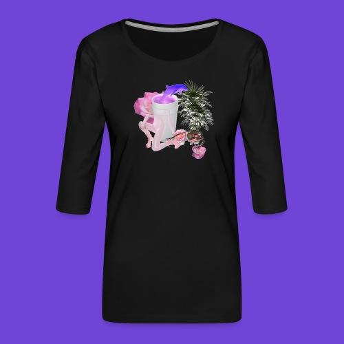 Purple Drank - Maglietta da donna premium con manica a 3/4