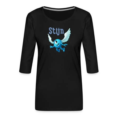 stijn png - Women's Premium 3/4-Sleeve T-Shirt