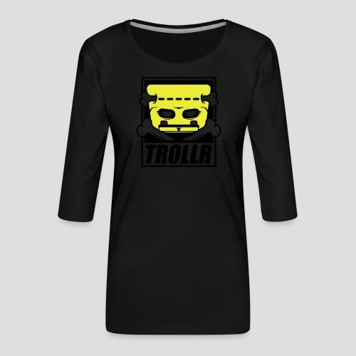 TROLLR origin - T-shirt Premium manches 3/4 Femme