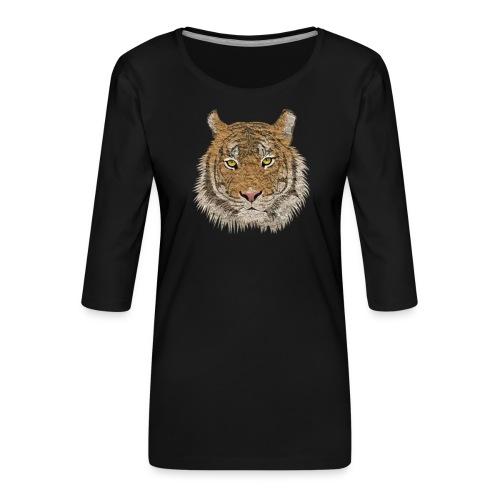 Tiger - Frauen Premium 3/4-Arm Shirt