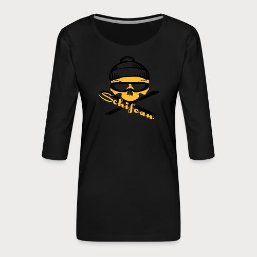 schifoan - Frauen Premium 3/4-Arm Shirt
