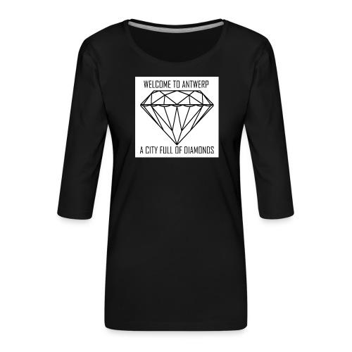 Antwerp lover - Vrouwen premium shirt 3/4-mouw