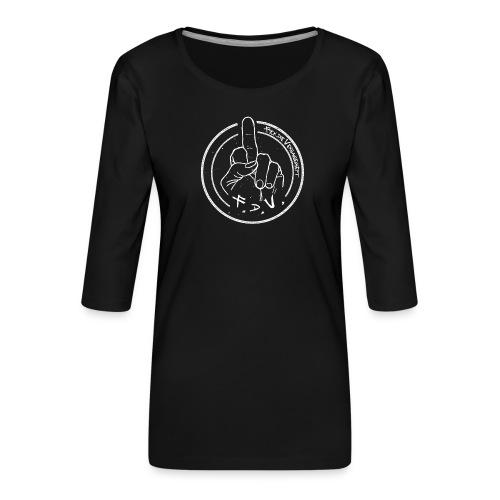 Megabosch F.d.V. - Frauen Premium 3/4-Arm Shirt