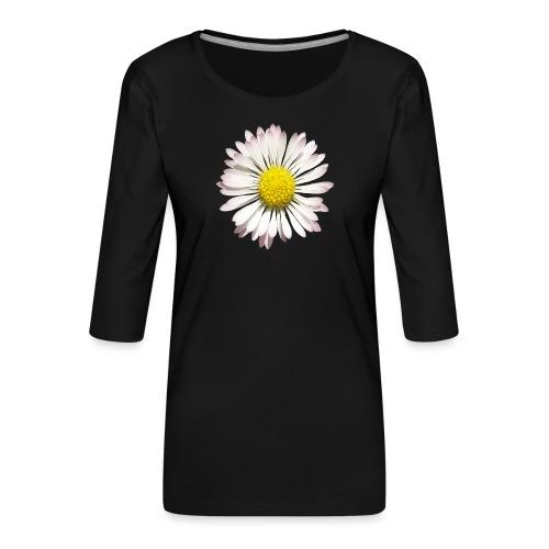 TIAN GREEN - Gänse Blümchen - Frauen Premium 3/4-Arm Shirt