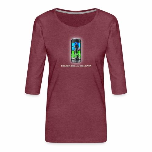Nafta Energy Drink - Maglietta da donna premium con manica a 3/4