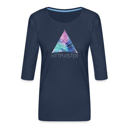 HTTPSTER - Vrouwen premium shirt 3/4-mouw