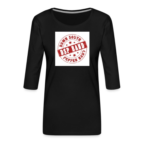 DSP band logo - Women's Premium 3/4-Sleeve T-Shirt