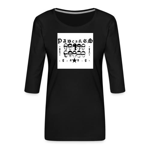 PANCAKESGANG - Koszulka damska Premium z rękawem 3/4