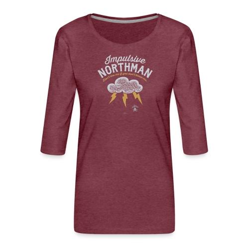 Impulsive Northman - Dame Premium shirt med 3/4-ærmer