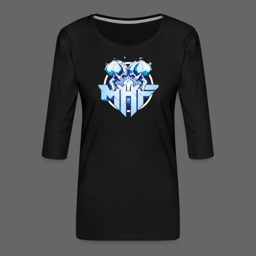 MHF New Logo - Women's Premium 3/4-Sleeve T-Shirt