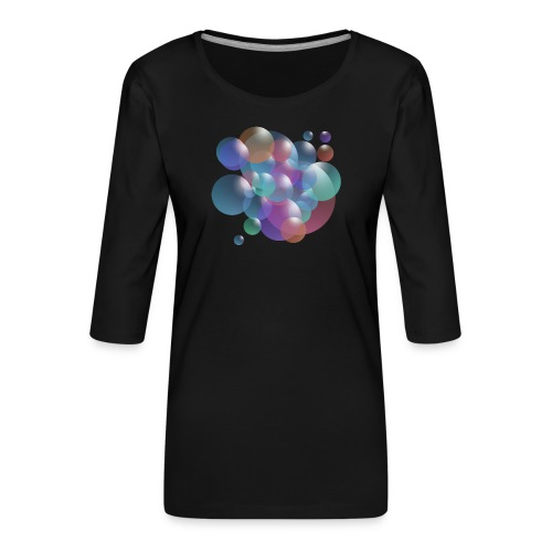 bubble - Frauen Premium 3/4-Arm Shirt