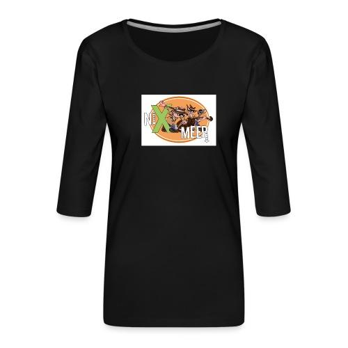 nixenmeer - Vrouwen premium shirt 3/4-mouw